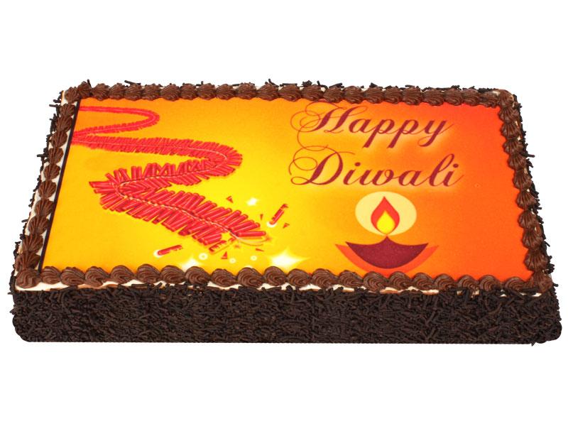 Diwali Cake   Awesome India