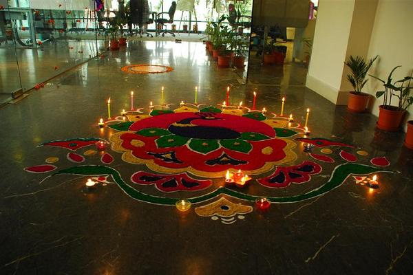 Diwali Rangoli | Awesome India