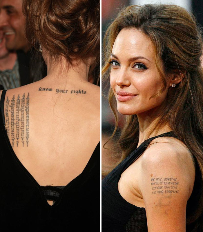 Tattoo Quotes Celebrities: 10 Iconic Hollywood Celebrities With Indian Tattoos