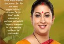 9 Fiery Speech By Smriti Irani in Parliament Which Thrashes the Opposition Like Hell