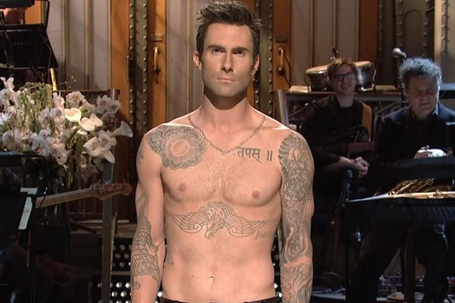 Adam Levine Hindi Tattoo