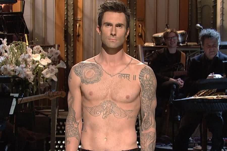 Adam Levine Hindi Tattoo