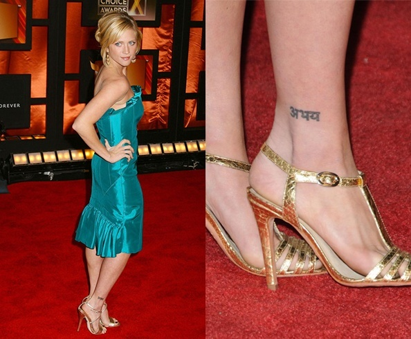 brittany snow abhay tattoo