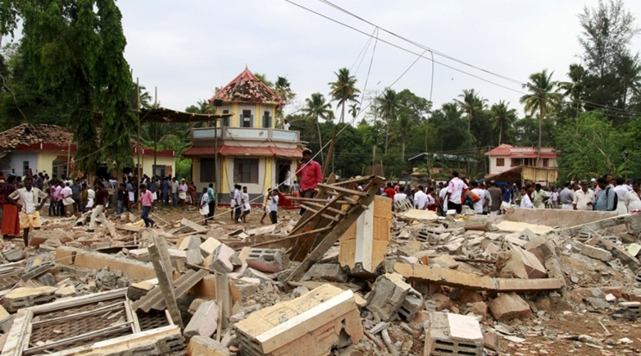 Kerala Temple Fire