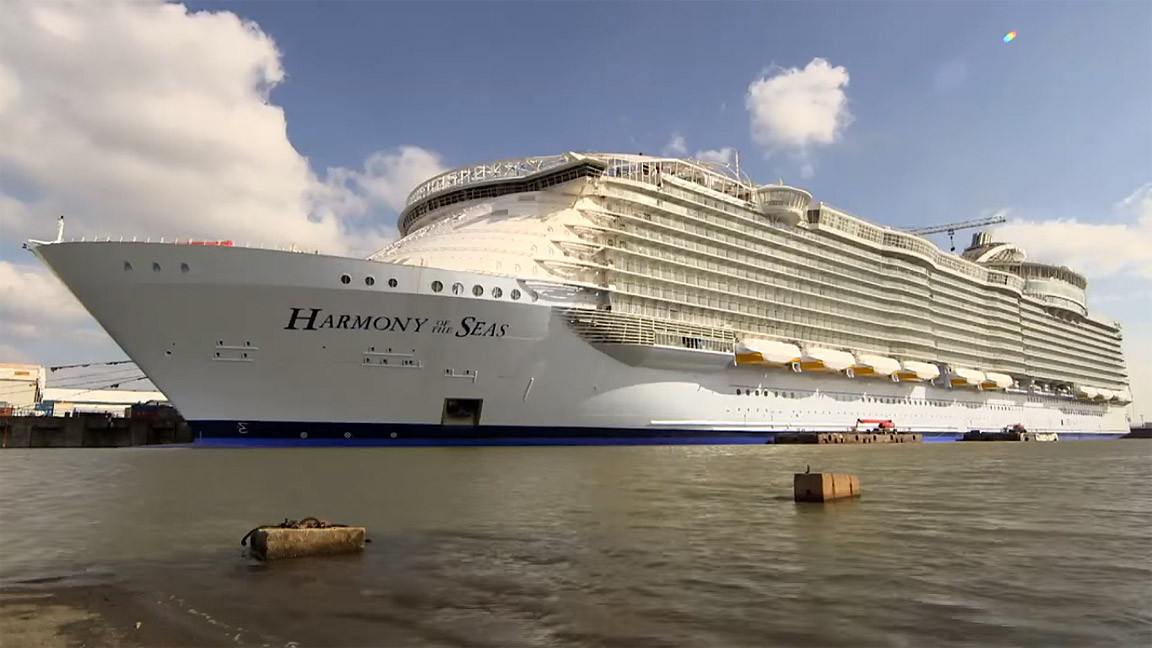 10 Mind-Boggling Facts About World's Largest Cruise Ship, Harmony of the Seas