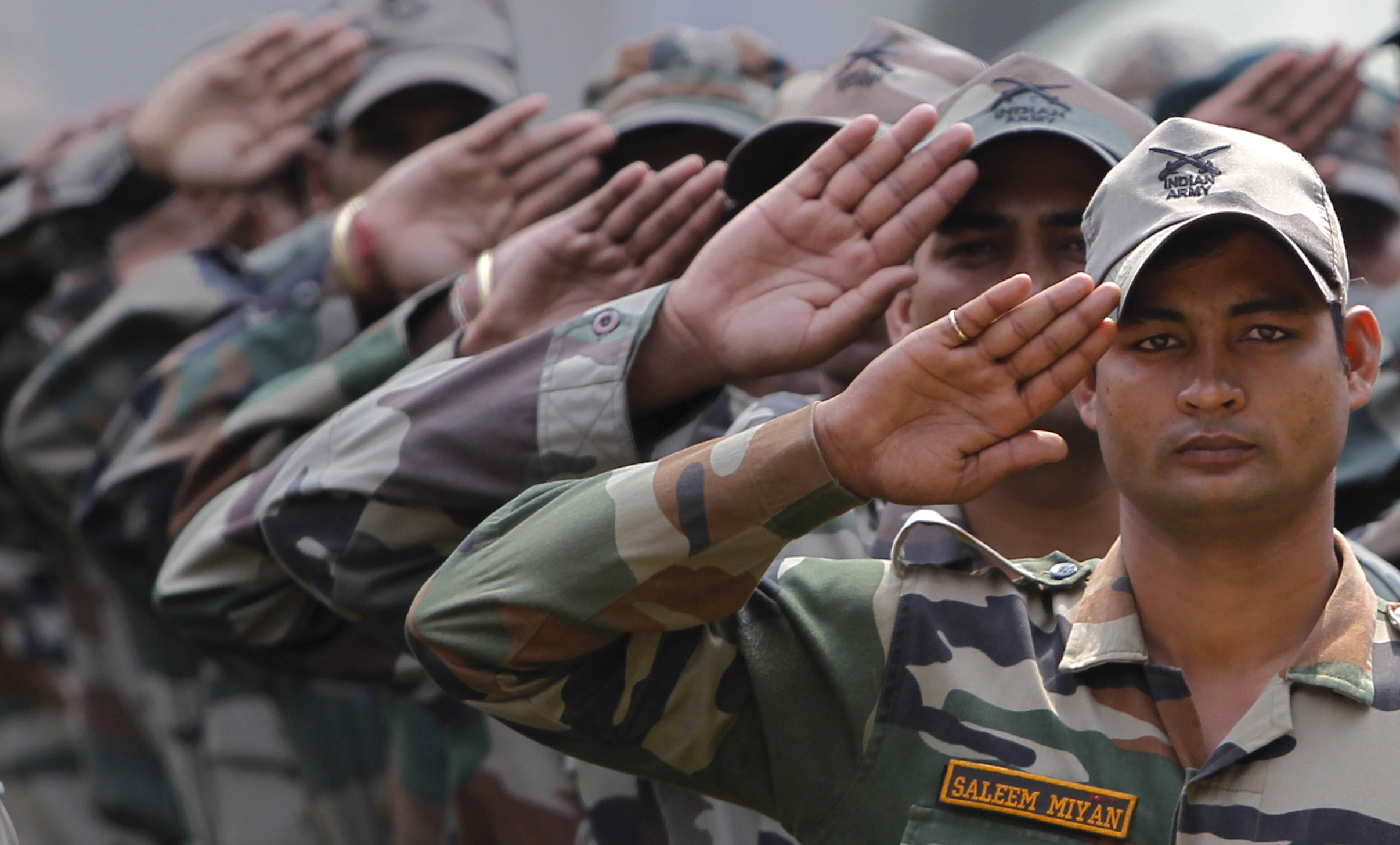 kolkata set an example supports walks for indian armed force