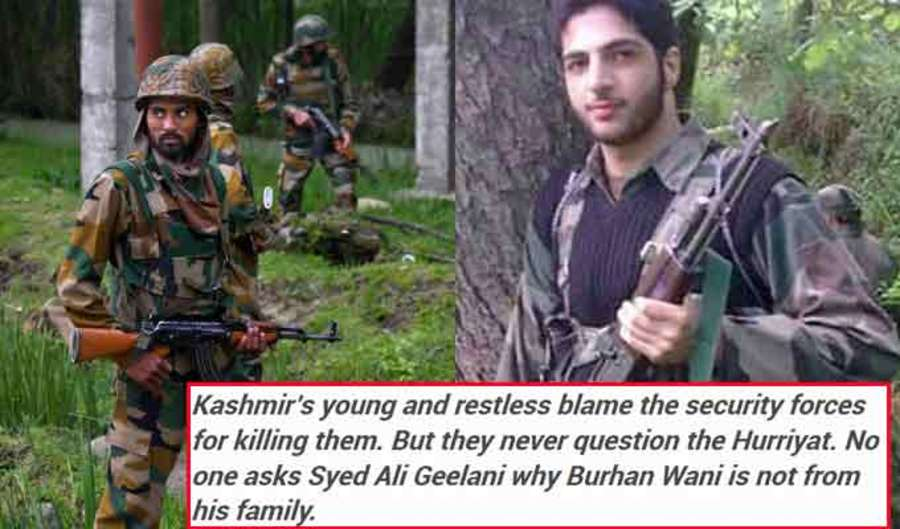 An Indian Army Major Writes an Open Letter To Terrorist Burhan Wani