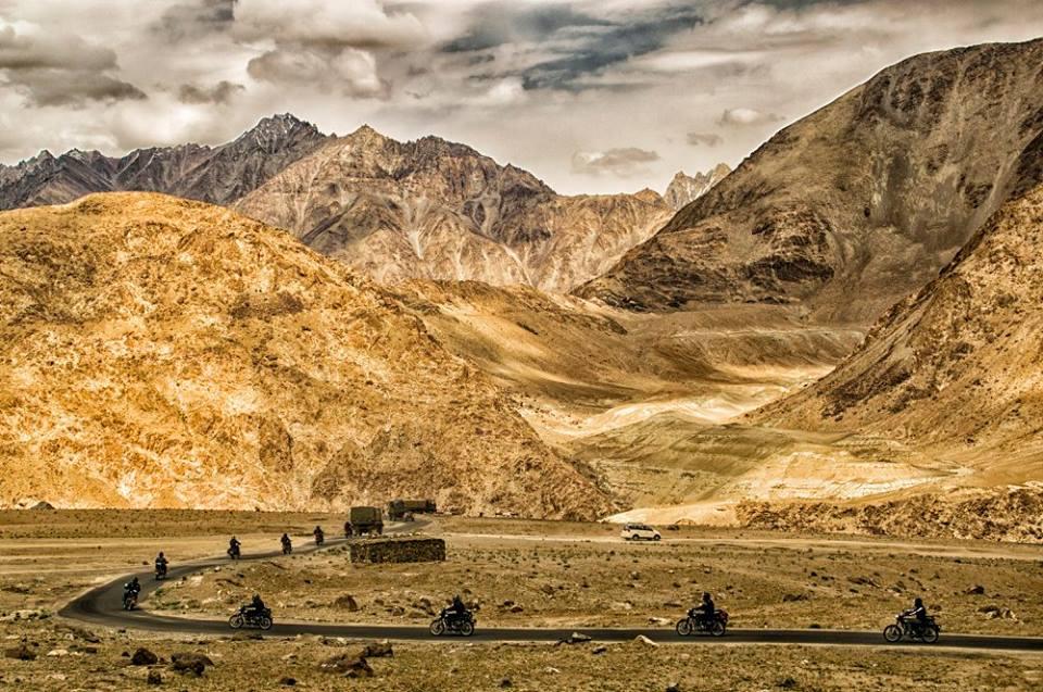 bike rally of ladakh