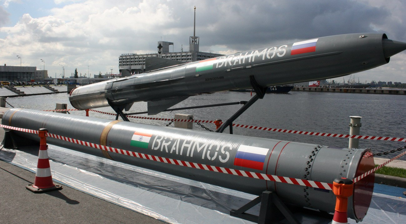 Hypersonic Brahmos cruise missile