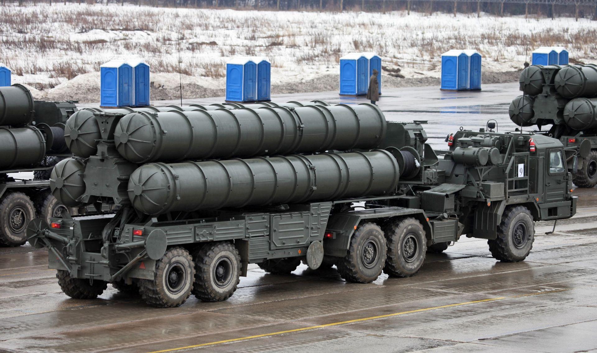 S400 SAM Missile System