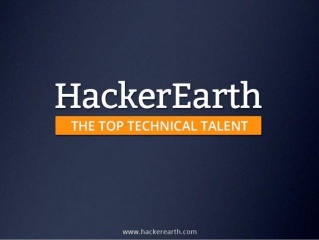 Hacker Earth