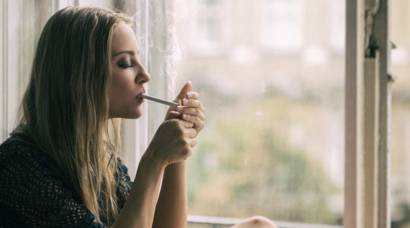 women smoker