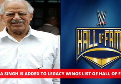 WWE Honours Indian Legendary Wrestler Dara Singh in Hall Of Fame 2018