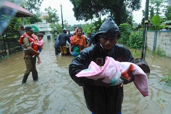 Shajita Jabil kerala flood
