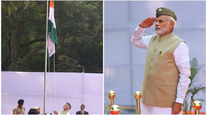 Modi Government Celebrated the 75th Anniversary of Azad Hind Fauz by Hoisting National Flag at Red Fort