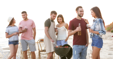 Outdoor BBQ Party