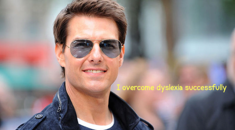 celebrities overcome dyslexia