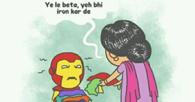 Avengers Funny Illustrations