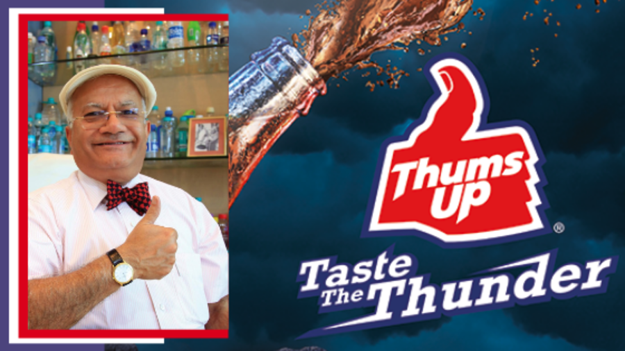 thums up brand story