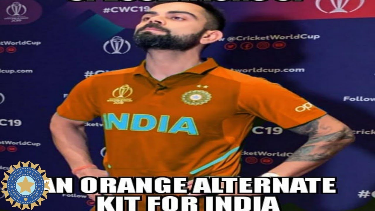 Virat Kohli and Company to Don New Colors this World Cup