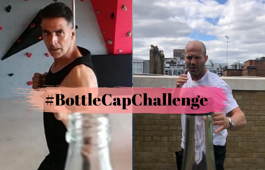 #BottleCapChallenge