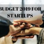 Budget 2019 for startups