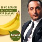 Rahul Bose and Banana