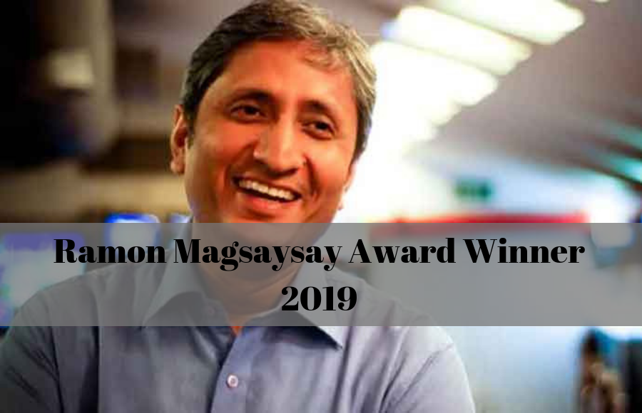 NDTV's  Ravish Kumar Wins 2019 Ramon Magsaysay Award for Ethical Journalism