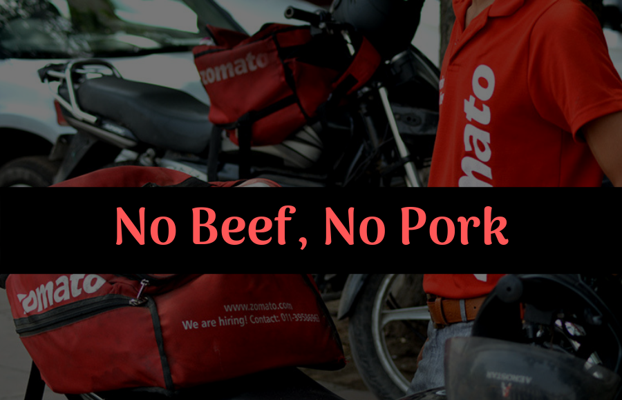 """Forced to Deliver Beef and Pork"" – Zomato Delivery Boys  Protest in West Bengal"