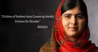 Children of Kashmir have Grown up Amidst Violence for Decades: Malala's Tweet Creates Controversy