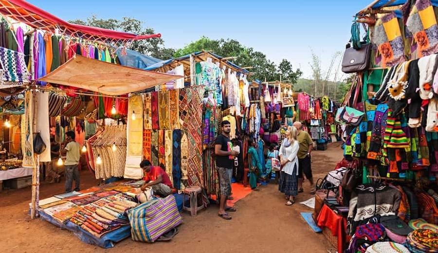 Goa Shopping Mapusa Market: