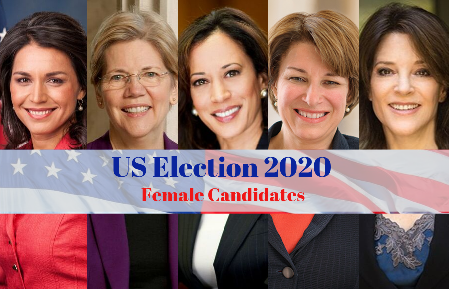 US Election 2020 Female Candidates