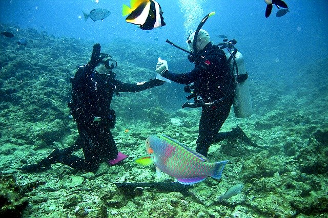 Scuba diving like never before during visit andaman