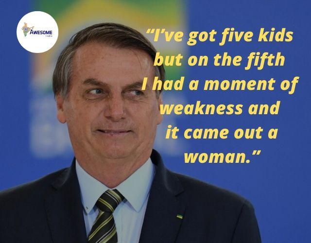 Jair Bolsonaro's Controversial Statements