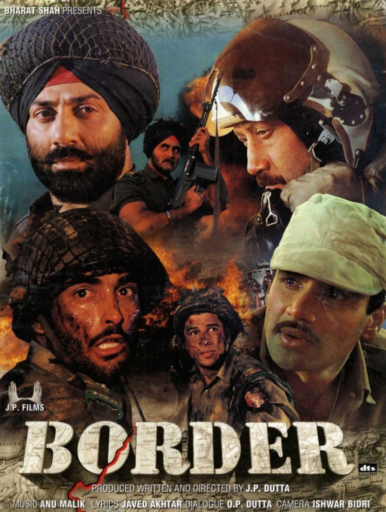 Border 1997 Best patriotic Movies Bollywood