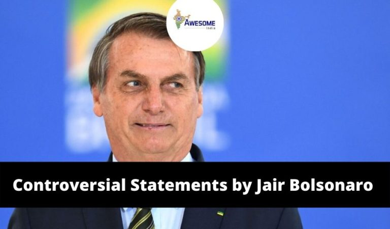 10 Most Controversial Statement Made by Jair Bolsonaro, India's Republic Day Chief Guest