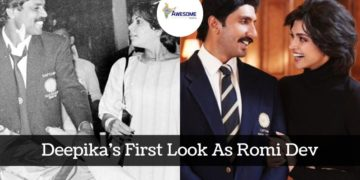 Deepika's First Look As Romi Dev