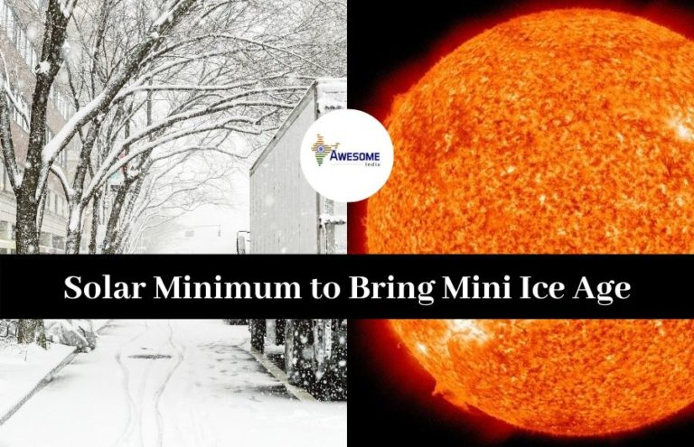 Solar Minimum to Bring Mini Ice Age