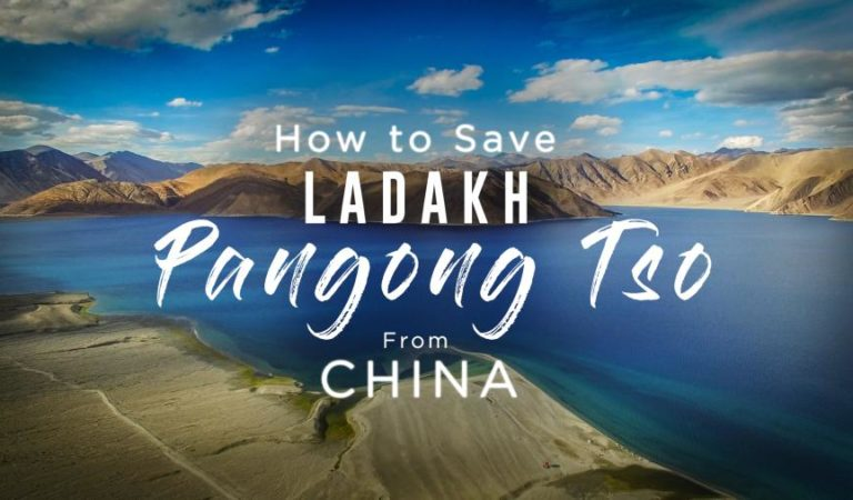 Save Ladakh, Pangong Lake from CHINA – Ft. Sonam Wangchuk