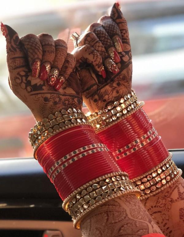 Bangles South Indian Wedding Jewellery