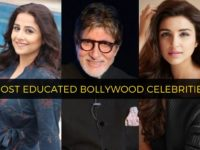 most educated bollywood celebrities