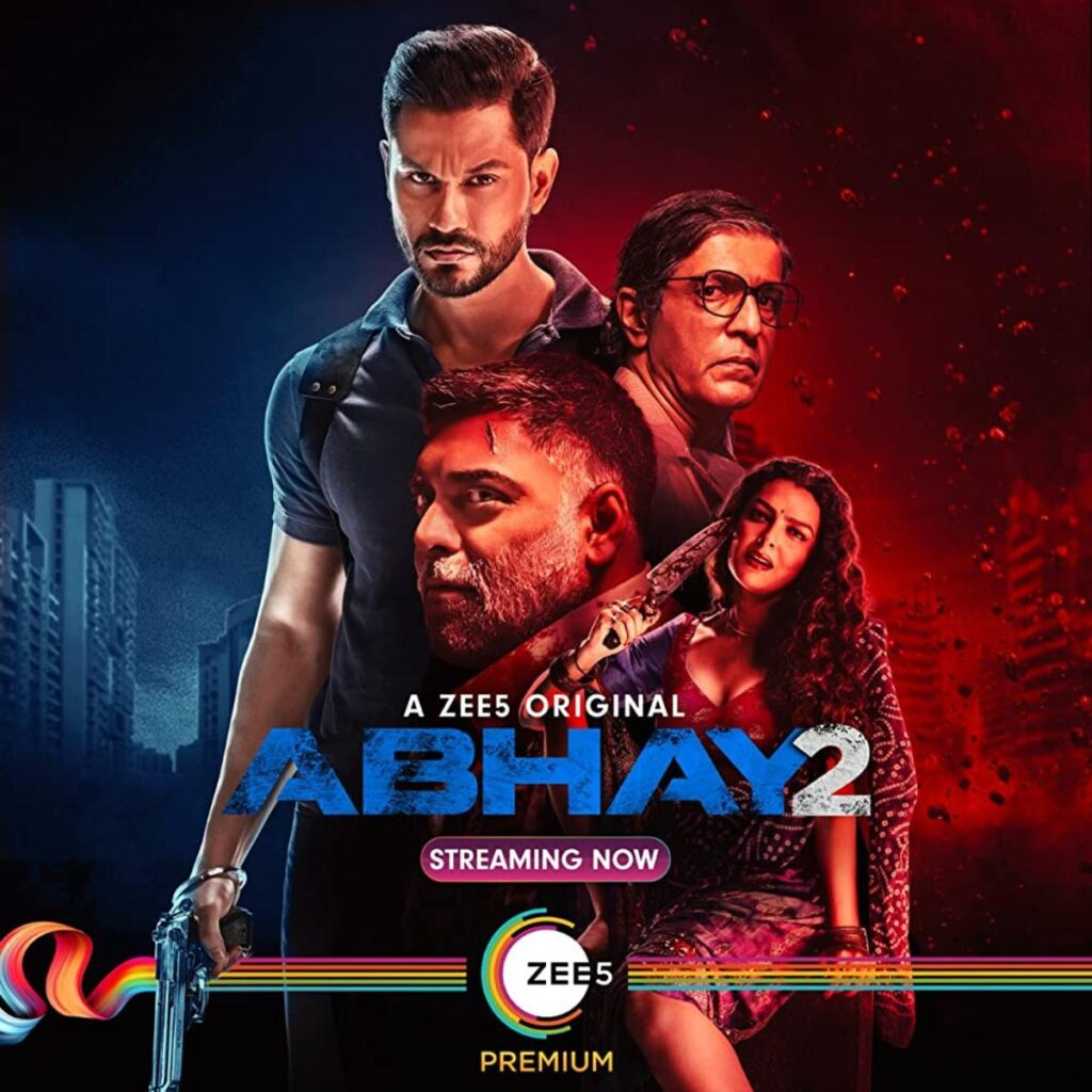 Abhay 2 among Indian Crime Thriller Web Series