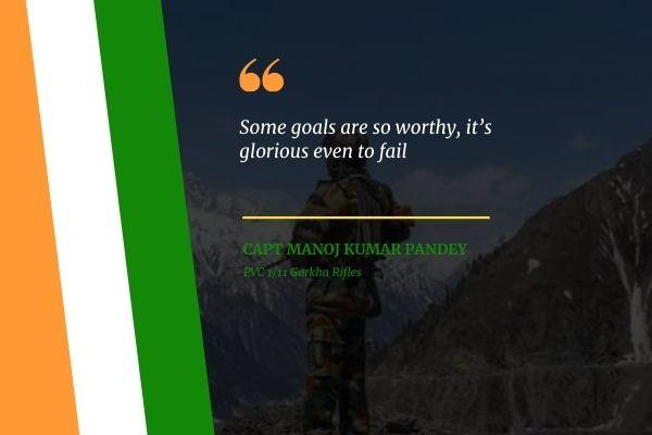 Capt Manoj Sharma Quotes