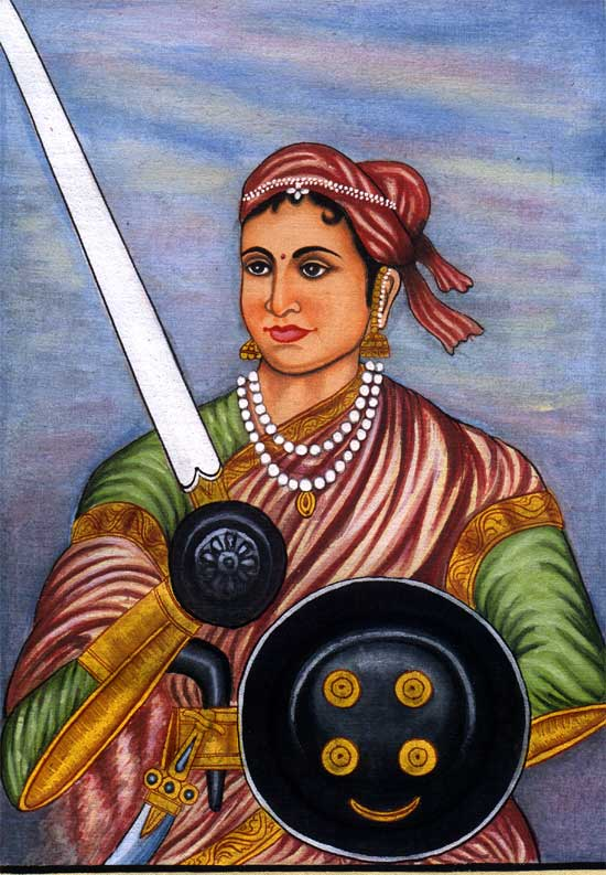 Rani Lakshmibai Female Freedom Fighters