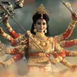 Maa Durga in Mahalaya