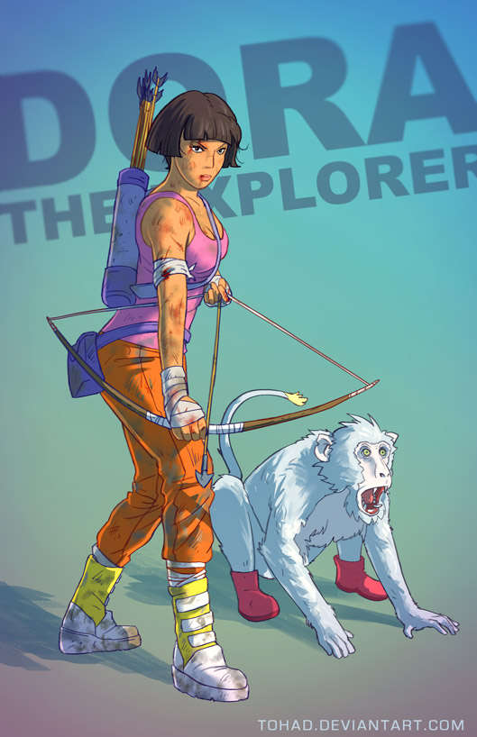 Dora the explorer Grown up Version