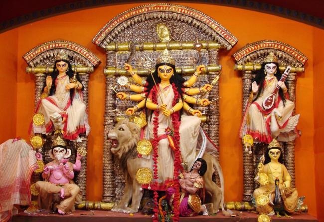 Samaj Sevi Sangha Durga Puja Pandal