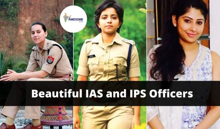 Top 10 Beautiful IAS and IPS Officers in INDIA