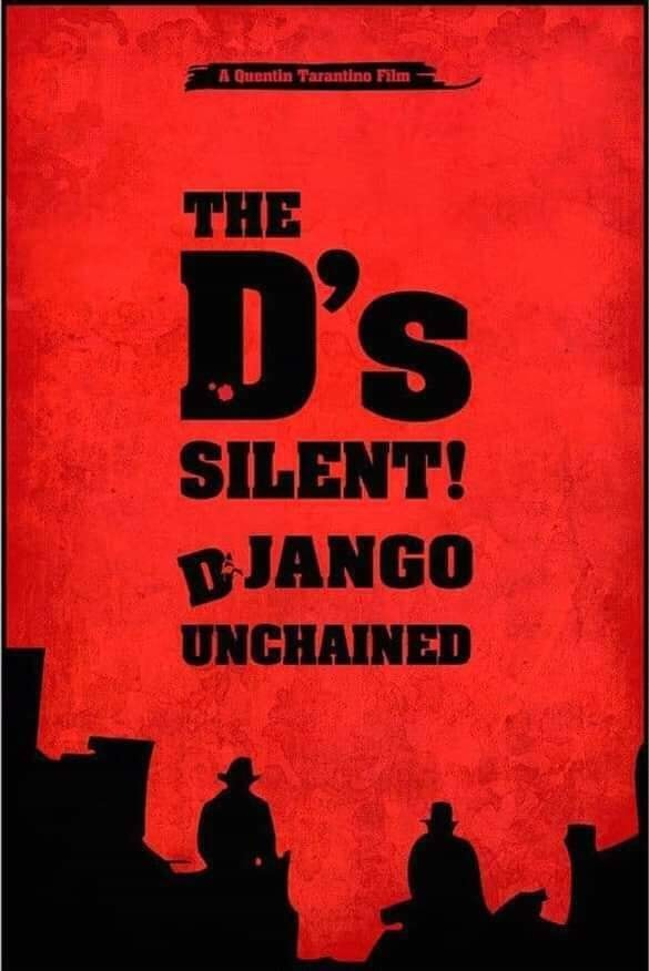 Django, The D is silent